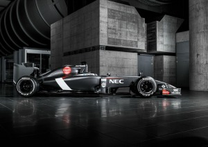 Side view of the Sauber C33 (Image: Sauber Motorsport AG)