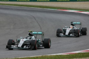 Lewis Hamilton and Nico Rosberg dominated qualifying in Austria (Image: Mercedes AMG)