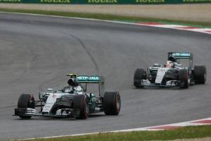 Lewis Hamilton and Nico Rosberg dominated qualifying in Austria (Image: Mercedes AMG)