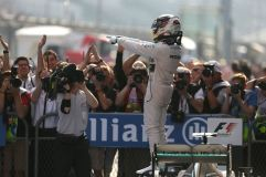Lewis Hamilton won the 2015 Chinese Grand Prix (Image: Mercedes AMG F1)