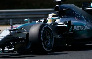 Hamilton took his 9th pole position of 2015 in Hungary (Image: Mercedes AMG)