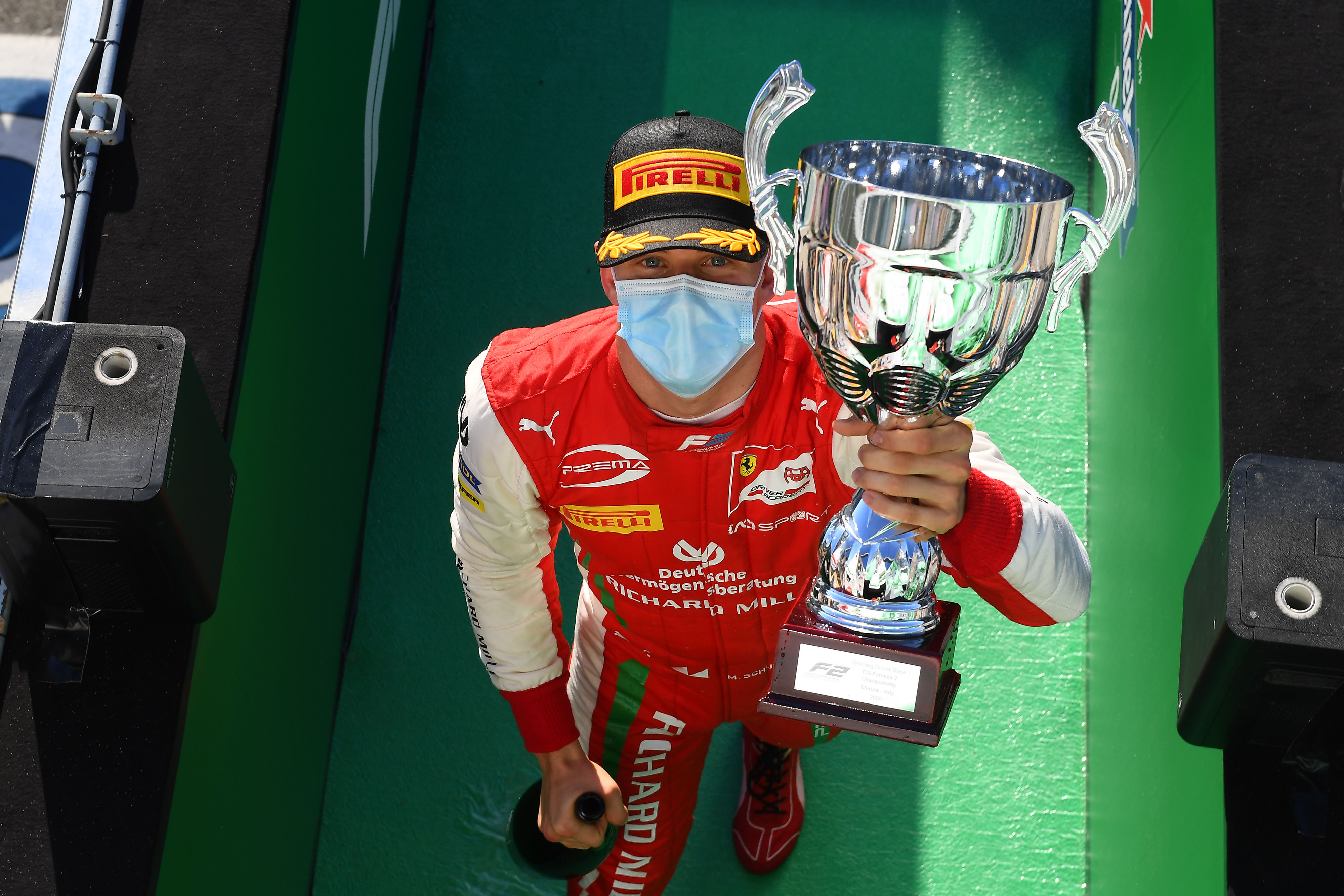 Mick Schumacher Wins At Monza Chris On F1